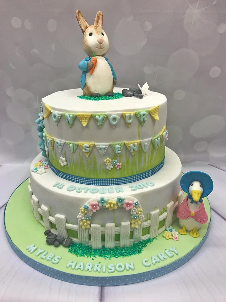 Christening -The Delicious Cake Company